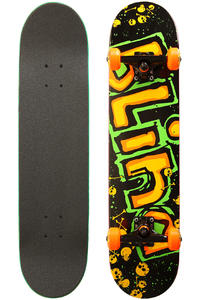 Blind OG Logo 7.75&quot; Complete-Board (neon)