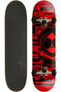 "Blind Maniac 7.25"" Komplettboard kids (red black)"