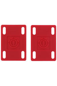 "Element 1/8"" Riser Pad 2er Pack  (red)"