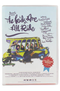 MOB Skateboards The Kids Are All Ride DVD Collectors Edition