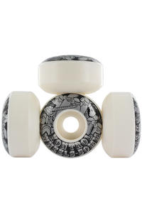 Kontrol Pinocchio Slim Cut 50mm Rollen 4er Pack  (black white)