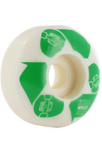 Kontrol ECO 50mm Rollen 4er Pack  (white green)