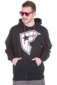 Famous OG Boh Zip-Hoodie (black)