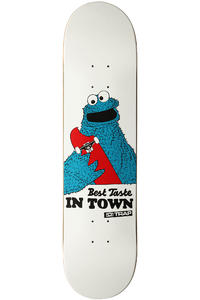 "Trap Skateboards Best Taste 7.75"" Deck (white)"