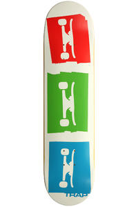 Trap Skateboards 3 Logo 7.625&quot; Deck