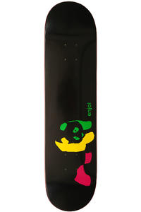 "Enjoi Team Rasta Panda R7 7.75"" Deck"