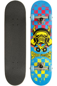 Speed Demons Skull Checker 80s 7.75&quot; Complete-Board