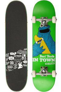 "Trap Skateboards Best Taste 7.3125"" Komplettboard kids (green)"