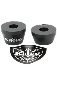 Khiro 95a Tall Cone Bushings (black)