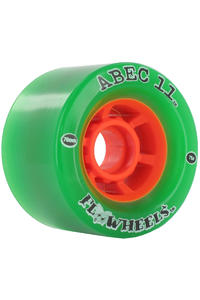 ABEC 11 Flywheels 76mm 78a Rollen 4er Pack  (green)