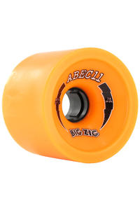 ABEC 11 Retro Big Zigs 75mm 86a Wheel 4er Pack  (orange)