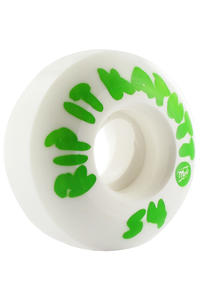 MOB Skateboards Rip It Kaputt 54mm Rollen 4er Pack  (white green)