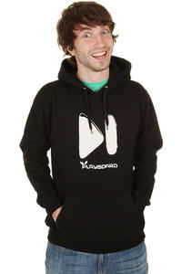 Playboard Button Hoodie (black)
