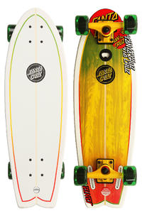 Santa Cruz Rasta Landshark 8.8&quot; x 27.7&quot; Cruiser mit Flaschenffner