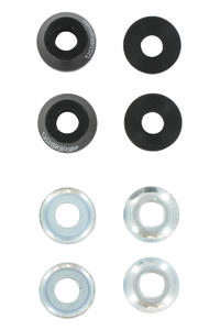 Crail 95a Moog Bushings 2er Pack inkl. Washer  (black)