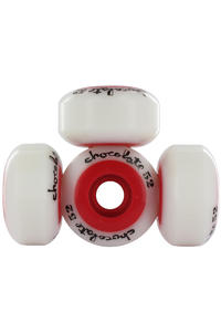Chocolate Chunk Core 52mm Rollen 4er Pack  (white red)