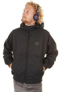 Cleptomanicx Polarzipper Hemp Jacke (black)