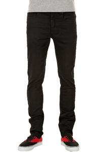 KR3W K Skinny Jeans (black slub)