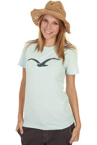 Cleptomanicx Möwe T-Shirt girls (light blue dark green)