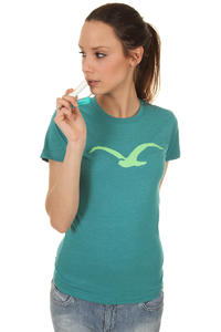 Cleptomanicx Möwe T-Shirt girls (heather turquoise)