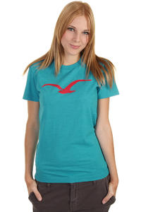 Cleptomanicx Möwe T-Shirt girls (heather ocean)