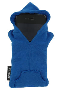Trap Skateboards iPhone Hoodie Tasche (royal blue)