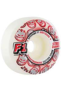 Spitfire F1 Street Burner 52mm Rollen 4er Pack  (white grey red)