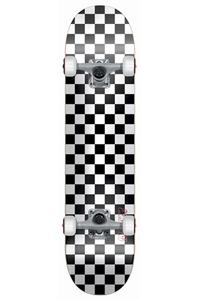 "Speed Demons White Checker 7.5"" Complete-Board"