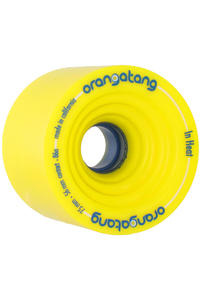 Orangatang In Heat 75mm 86A Wheel 4er Pack  (yellow)