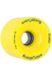 Orangatang 4President 70mm 86A Wheel 4er Pack  (yellow)