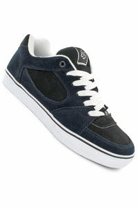 éS Square One Suede/Nubuck Shoe (navy black)