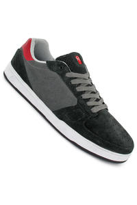 S Keano Suede Shoe (black red)