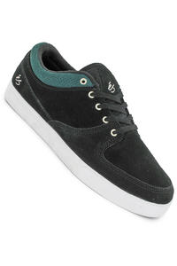 S Garcia 3 La Brea Suede Shoe (black green white)