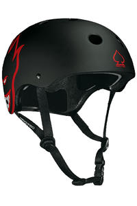 PRO-TEC The Classic Helm (spitfire matte black)