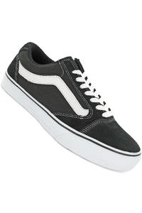 Vans TNT 5 Suede Canvas Shoe (black white)