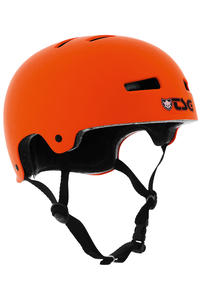 TSG Evolution-Solid-Colors Helmet (flat orange)