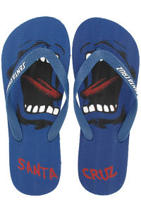 Santa Cruz Screaming Flop Sandale (blue)