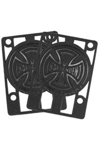 Independent 1/8&quot; Riser Pad 2er Pack  (black)