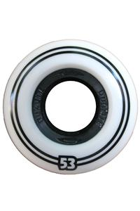 Dualite Dualcore 53mm Wheel 4er Pack  (white black)