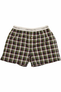 Carhartt Logo Boxershorts (danford check cedar)