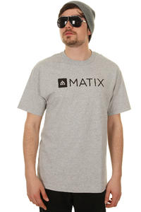 Matix Monolin T-Shirt (heather grey)