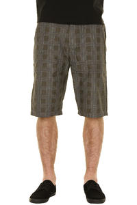 REELL Chino Checkered Shorts (oxford grey blue)