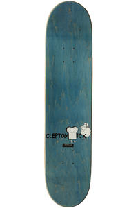 "Cleptomanicx Smile Toast 7.5"" Deck (white)"