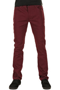 Iriedaily Slim Shot Hose (maroon)