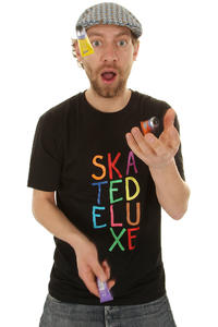 SK8DLX Painted Big T-Shirt (black multi)
