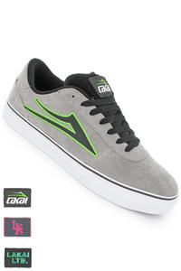 Lakai Manchester Select Patch Kit Suede Schuh (grey)