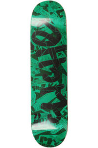 Clich Handwritten Pre-Gripped 7.875&quot; Deck (green)