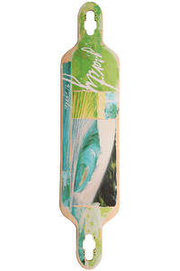 "Gravity Skateboards The Makai 9.5"" x 41"" Longboard Deck inkl. Griptape"