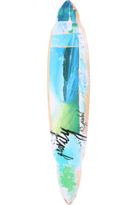 Gravity Skateboards Pintail Bamboo 9.25&quot; x 45&quot; Longboard Deck inkl. Griptape