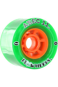 ABEC 11 Flywheels 76mm 81a Wheel 4er Pack  (green)